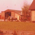 1978 varkensstalinrichting maken in een oude kippenstal